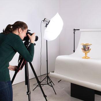 Fotostudio für Kunstobjekte und Antiquitäten